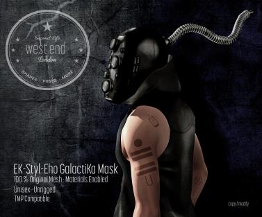 [ west end ] EK-Styl-Eho GalactiKa Mask-1500