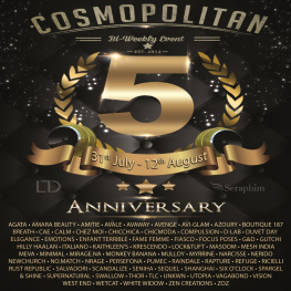 Cosmopolitan 5th Anniversary {Round 1_6} 31st July-12th August