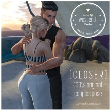 [ west end ] Closer - Couples Pose small