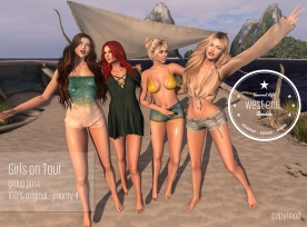 [ west end ] Girls on Tour - Group Pose-2