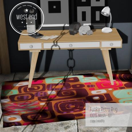 [ west end ] Home - Funky Retro Rug