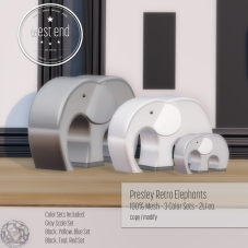 [ west end ] Home - Presley Retro Elephants
