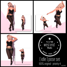 [ west end ] Idle Pose Set Freebies