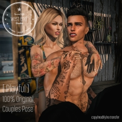 [ west end ] Playful - Couples Pose_mp