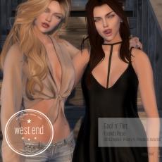 [ west end ] Poses - Goof N Flirt - Friends Pose