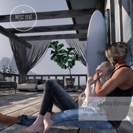 [ west end ] Poses - One Lazy Sunday Afternoon-couples pose