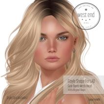 [ west end ] Shapes - Gayle (LAQ Gaia Bento )