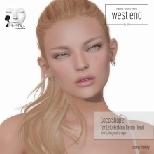 [ west end ] Shapes -Coco (Lelutka May Bento )
