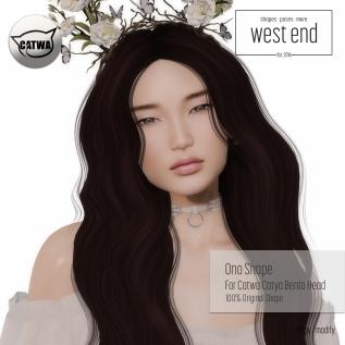 [ west end ] Shapes - Ono (Catwa Catya Bento )