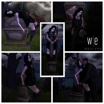 [ west end ] Grave Desires Pose Set v2
