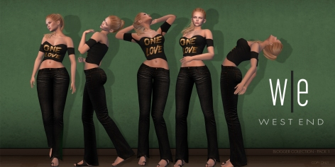 [ west end ] Poses - Blogger Collection - Pack 1-larger