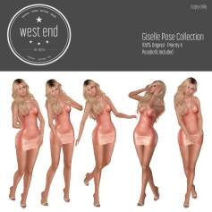 [ west end ] Poses - Giselle - Pose Collection
