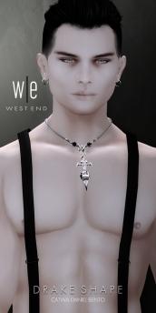 [ west end ] Shapes - Drake (CATWA Daniel Bento)AD-1024