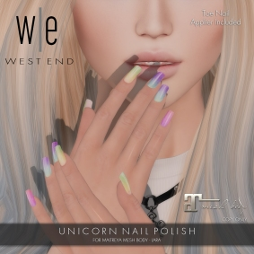 [ west end ] Beauty - Unicorn Nail Polish (Maitreya) - AD MP