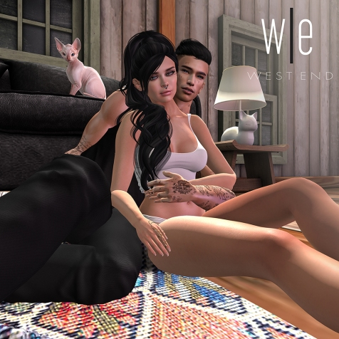 [ west end ] Poses - Contemplation - Couples Pose