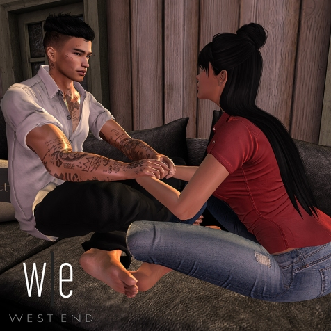 [ west end ] Poses Declaration - Couples Pose