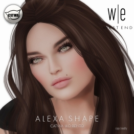 [ west end ] Shapes - Alexa (Catwa Lilo Bento)