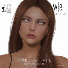 [ west end ] Shapes - Amber (Lelutka Simone Bento)