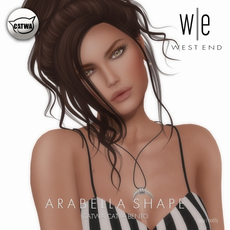[ west end ] Shapes - Arabella (Catwa Catya Bento)
