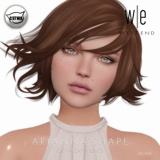 [ west end ] Shapes - Arianna (Catwa Catya Bento)