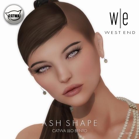 [ west end ] Shapes - Ash (Catwa Lilo Bento)