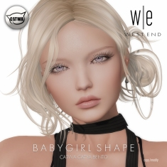[ west end ] Shapes - Babygirl (Catwa Catya Bento)