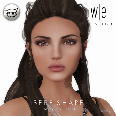 [ west end ] Shapes - Bebe (Catwa Catya Bento)