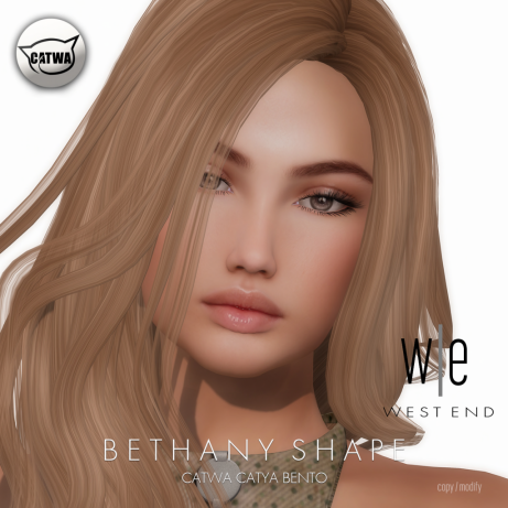 [ west end ] Shapes - Bethany (Catwa Catya Bento) AD