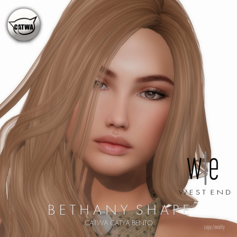 [ west end ] Shapes - Bethany (Catwa Catya Bento) AD