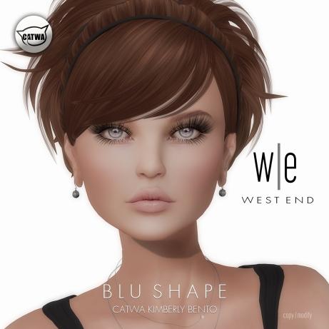 [ west end ] Shapes - Blu (Catwa Kimberly Bento)