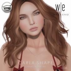 [ west end ] Shapes - Carla (Catwa Catya Bento)