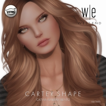 [ west end ] Shapes - Carter (Catwa Kimberly Bento)