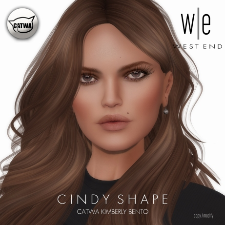 [ west end ] Shapes - Cindy (Catwa Kimberly Bento)