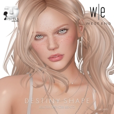 [ west end ] Shapes - Destiny (Lelutka Spencer Bento)