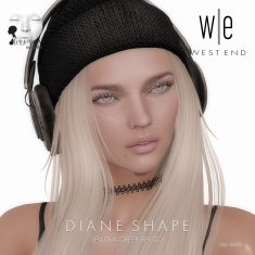 [ west end ] Shapes - Diane (Lelutka Greer Bento)