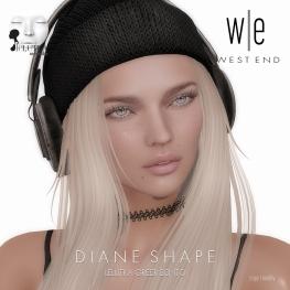 [ west end ] Shapes - Diane (Lelutka Greer Bento)