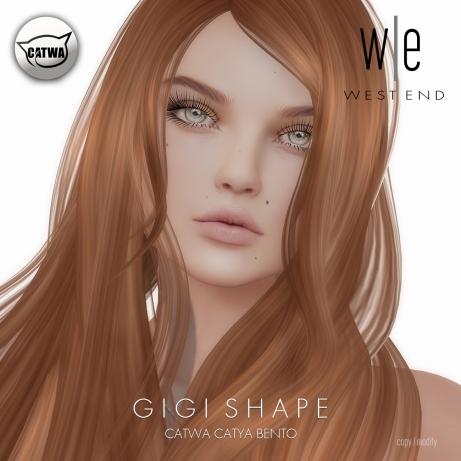 [ west end ] Shapes - Gigi (Catwa Catya Bento)