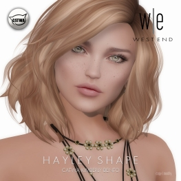 [ west end ] Shapes - Hayley (Catwa Kimberly Bento)