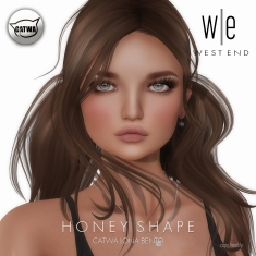 [ west end ] Shapes - Honey (Catwa Lona Bento)