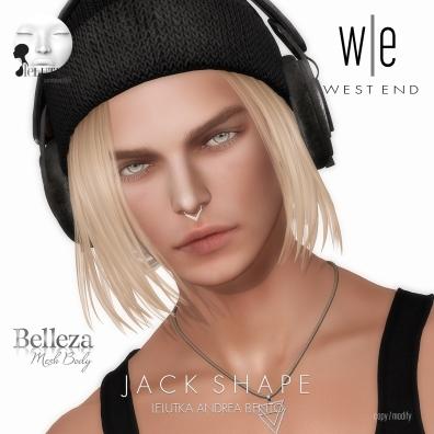 [ west end ] Shapes - Jack (Lelutka Andrea Bento)