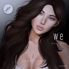 [ west end ] Shapes - Lara (Genesis Lab Ariana Bento)