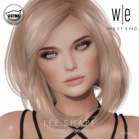[ west end ] Shapes - Lee (Catwa Lilo Bento)