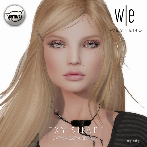 [ west end ] Shapes - Lexy (Catwa Catya Bento)