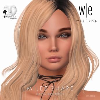 [ west end ] Shapes - Milee (Lelutka Greer Bento)