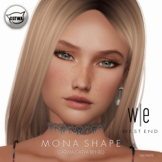 [ west end ] Shapes - Mona (Catwa Catya Bento)