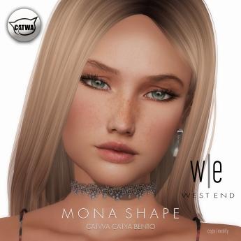 [ west end ] Shapes - Mona (Catwa Catya Bento)