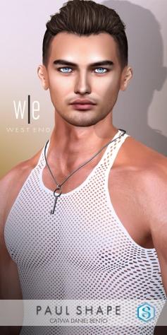 [ west end ] Shapes - Paul (CATWA Daniel Bento)AD2-1024