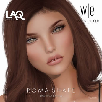 [ west end ] Shapes - Roma (LAQ Ana Bento)