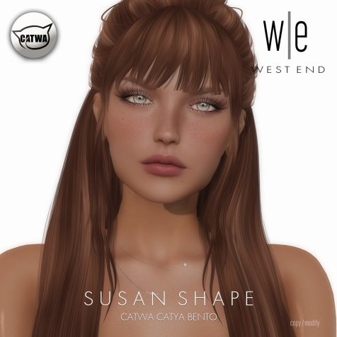 [ west end ] Shapes - Susan (Catwa Catya Bento)