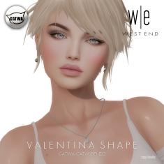 [ west end ] Shapes - Valentina (Catwa Catya Bento)